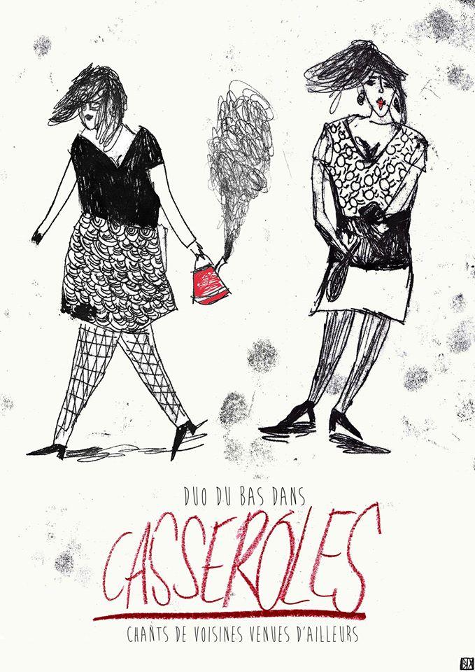 Affiche Sepctacle Casseroles